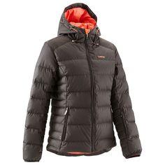 Abbigliamento sci snow - Piumino sci donna DoonDoon Warm marrone-arancio