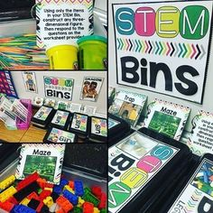 STEM Bins for early
