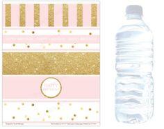 gold and pink labels ile ilgili görsel sonucu