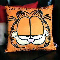 Almofada Garfield Cushion Garfield Decoração com almofada decoration with pad home decor.