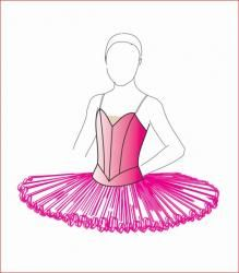 pin the tutu on the ballerina template - tutu patterns a place for ballet patterns and equipment