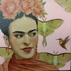 Frida Kahlo. By  Steve Leal
