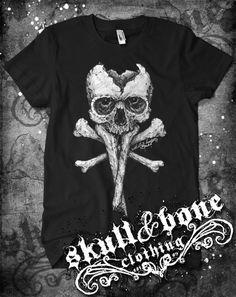 Poison Skull @ www.skullandboneclothing.com
