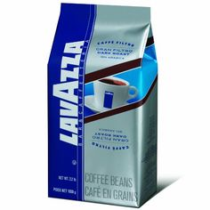 Lavazza Gran Filtro Dark Roast Whole Coffee Beans, 2.2-Pound Bags (Pack of 2) - http://www.freeshippingcoffee.com/brands/lavazza/lavazza-gran-filtro-dark-roast-whole-coffee-beans-2-2-pound-bags-pack-of-2/ - #Lavazza