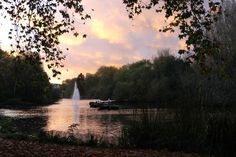 St. James park in London