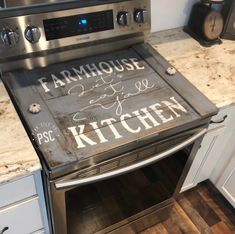Lets eat yall stove cover / Farmhouse kitchen noodle board / stove cover / farmhouse stove cover farmhouse sign / stove board Primitive Homes, Primitive Kitchen, Farmhouse Kitchen Decor, Rustic Farmhouse, Primitive Country, Farm House Kitchen Ideas, Rustic Kitchens, Kitchen Country, Red Kitchen