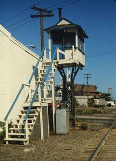 grand trunk western railroad company | Grand Trunk Western Railroad Signal Tower that once stood just south ...