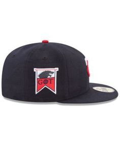 New Era Minnesota Twins Game of Thrones 59FIFTY Fitted Cap - Blue 7 1/2