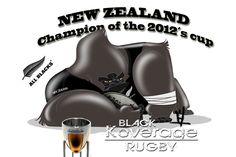 Rugby Dibujo All Black