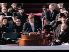 Watch the Inaugural Address of John F. Kennedy - Part 1