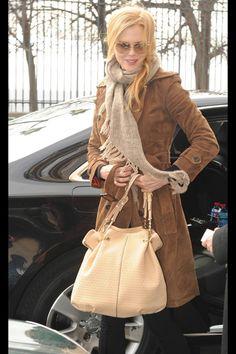 Nicole Kidman wearing Tod's