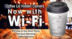 1080P Covert Coffee Cup Lid Camera DVR with WiFi    http://stuntcams.com/shop/1080p-covert-coffee-cup-lid-camera-dvr-with-wifi-p-1315.html