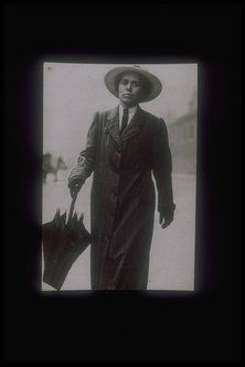 photograph - The Suffragette Alice Gilliatt