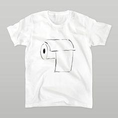 わたしの愛おしい空間へ。あいをこめて。 | 明季 ( superelastic ) の【トイレさん(シンプルver)】Tシャツ
