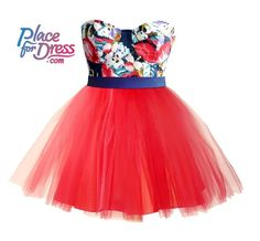 Tiulowa sukienka Place for Dress - PlaceForDress - Sukienki bez ramiączek