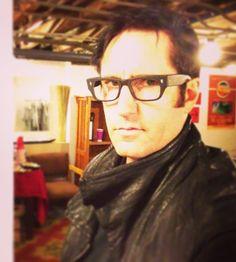Trent Reznor wearing glasses - *swoon*