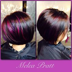 Haircut and color by Melea at Revival