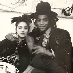 "7,938 Likes, 48 Comments - IDEA (@idea.ltd) on Instagram: ""Photo by the late great Glenn O'Brien. Younger daze. Madonna and Jean-Michel Basquiat from Downtown…"""
