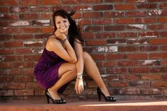 Urban Senior Girl - I just like this pose and her smile