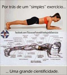 "NOVA FITNESS ACADEMIA ""Seu exercício na medida certa!"": PRANCHA ABDOMINAL - (ISOMETRIA) #dieta #emagrecer #detox #diet"