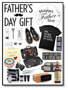 """""""Father's Day Gift Guide"""" by shortyluv718 ❤ liked on Polyvore featuring art and fathersdaygiftguide"""