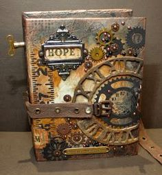 A blog about Card Making, Scrapbooking, mixed media, steampunk and Tim Holtz Techniques.