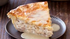 Weekend Recipe: Moravian Chicken Pie This Moravian chicken pie recipe yields a satisfying double-crusted pie filled with shredded chicken and served with a rich gravy. Cooks Country Recipes, Cooking Recipes, Pie Recipes, Curry Recipes, Empanadas, Great Recipes, Favorite Recipes, Recipe Ideas, Americas Test Kitchen