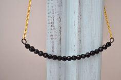 Black & Gold Necklace