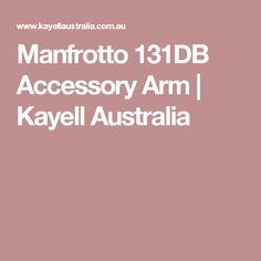 Manfrotto 131DB Accessory Arm | Kayell Australia