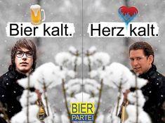 """Gefällt 3,143 Mal, 13 Kommentare - Die Bierpartei (@die.bierpartei) auf Instagram: """"Lieber ein kaltes Bier als ein kaltes Herz. 🤍🍺 @marco.pogo #bierpartei"""" Movies, Movie Posters, Instagram, Cold, Politics, Beer, Films, Film Poster, Cinema"""