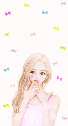 Imagen de Enakei, girl, and Nana Love Cartoon Couple, Girl Cartoon, Cute Cartoon, Lovely Girl Image, Girls Image, Cute Kawaii Girl, Cute Girl Wallpaper, Cute Messages, Muse Art