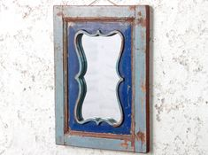 We stock over 400 vintage, retro and mid-century chairs for home, bar, restaurant and outdoor use. Shabby Chic Mirror, Rustic Mirrors, Vintage Mirrors, Rustic Walls, Vintage Shabby Chic, Vintage Metal, Blue Wall Mirrors, Wooden Desk, Floor Mirror
