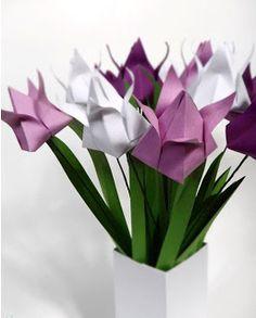 Manualidades como hacer flores de papel ~ Solountip.com