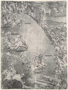 Artist: Breu, Jörg d. Ä., Title: Die Belehnung König Ferdinands mit den österreichischen Erblanden, Detail [11/23], Date: 1530