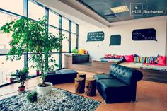 Impact Hub Bucharest - #coworking space in Bucharest, Romania.
