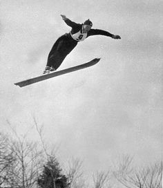 Birger Ruud (1911–1998) was a Norwegian ski jumper.Born in Kongsberg, Ruud, with his brothers Sigmund and Asbjørn, dominated international jumping in the 1930s, winning three world championships in 1931, 1935 and 1937. Ruud also won the Olympic gold medal in 1932 and 1936. He also was an accomplished alpine skier, winning a bronze medal in the combined at the 1935 world championships. Ruud won the Holmenkollen ski jumping competition in 1934 and shared the Holmenkollen medal in 1937 with…