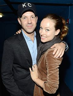 Jason Sudeikis and fiancee Olivia Wilde held on tight at Justin Timberlakes May 5 concert (presented by MasterCard Priceless Premieres) at NYCs Roseland Ballroom.
