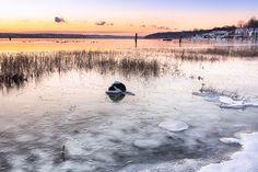 Frigid Sun - beautiful winter landscape pictures - New England Photography