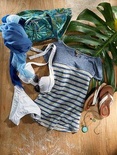 Palming around #WomensFasion #Fashion #TommyBahama Hawaii Style, Beach Essentials, Walk On, Tommy Bahama, Boutique Clothing, New Product, Ladies Fashion, Womens Fashion, New Dress