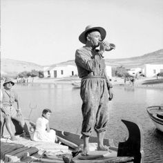 #Paros #History #Greece #Vintage #People #Water #Simple #Life