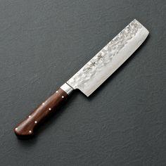 "Sakai Takayuki Sugihara Damascus Nakiri - 6.3"" | Chubo Knives"