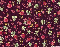 TTSOF3DP: : Sofia - Decidedly Floral - Dk Plum (pillow/ accent)