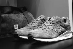 The Canadian brand has joined with New Balance for a pair of tonal looks.