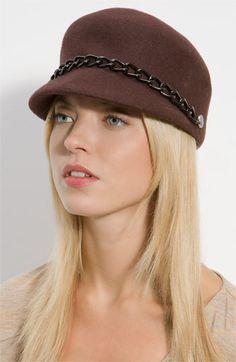 in gray. Summer Cap, Flower Hats, Love Hat, Cool Hats, Conductors, Hats For Women, Nordstrom, Menswear, Elegant