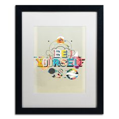 Be Yourself by Kavan & Co Framed Graphic Art