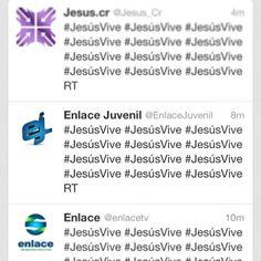 Así es... #JesúsVive ¡Compártelo!