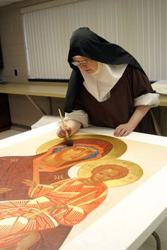 Carmelite iconographer