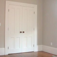 Paint color i'm using for our bedroom - revere pewter by Benjamin Moore