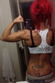 Jodie Marsh's back..of course it looks perfect ♠ ♥✯ Stunning Ink✯ ♥ ♠