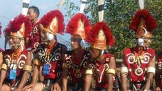 The Naga people are a collection of several tribes located in Northeast India, many of whose origins can be traced back to Southeast Asia and Mongolia.